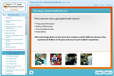 Preparation for a Global Health Elective